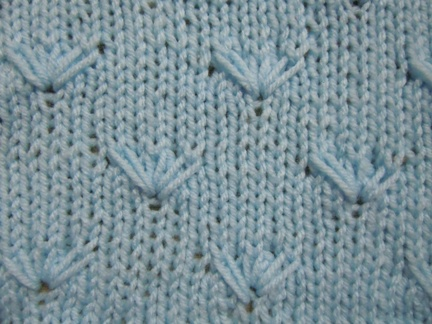 ornamental stitch knitting pattern
