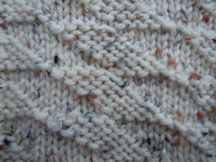Knitting Stitches Description : Parallelogram Check knitting stitch; how to knit