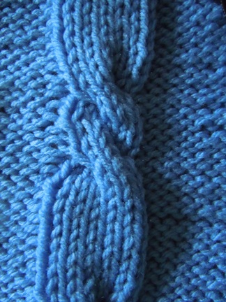 propeller cable knitting pattern