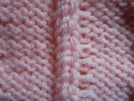Simple Cable Knitting Stitch How To Knit