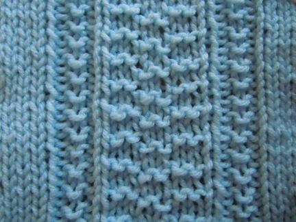 Knitting Stitches Waves : Triple wave knitting stitch; how to knit