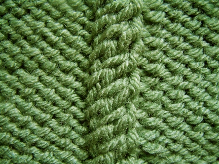 twisting cable knitting pattern