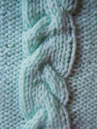 vine cable knitting pattern