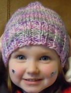 hat knitting pattern - child size