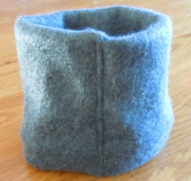 sewing instructions - neck warmer