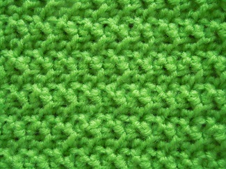 back and front loop crochet stitch pattern
