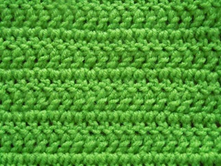 how to crochet using double crochet stitch