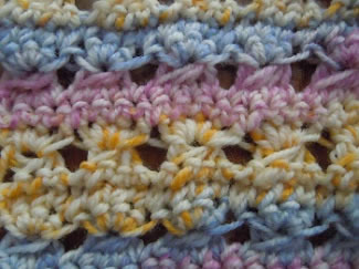 Crochet Pattern: Broomstick Lace Wrap