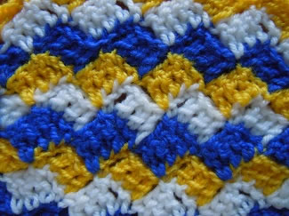 crosshatch crochet stitch