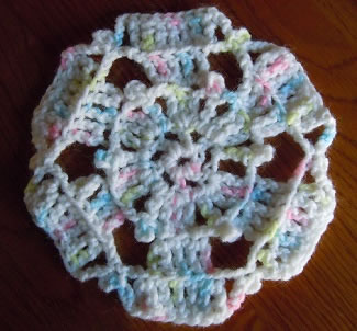 crystal hexagon crochet pattern