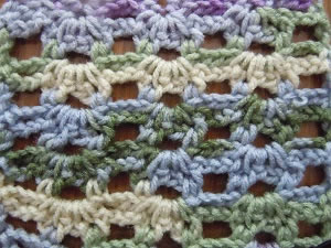 double picot string crochet pattern