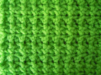 loop half double crochet stitch