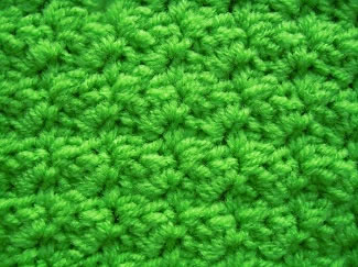 sedge crochet stitch pattern
