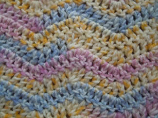 simple chevronn crochet pattern