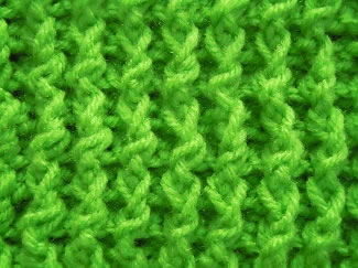 single rib crochet stitch pattern