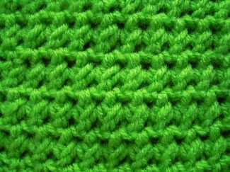single crochet cluster stitch pattern