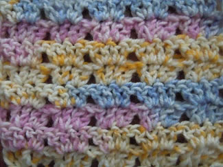 twin v crochet pattern