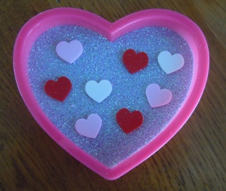 Cookie Cutter Set Valentines day biscuits gift idea crafts Heart Fondant
