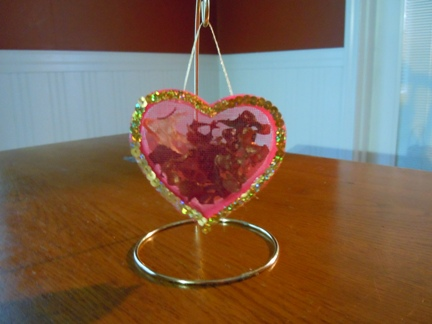 how to make a potpourri heart